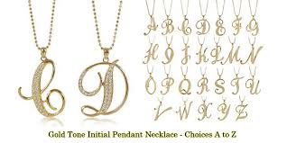 gold letter necklace pendants images Sandi pointe virtual library of collections jpg