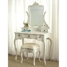 Antique Vanity With Mirror And Bench - antique white bedroom vanity u2013 artasgift com