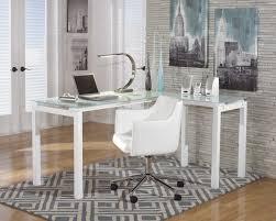 L Shaped Glass Desks Setting Contemporary L Shaped Desk Contemporary