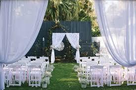 wedding backdrop canopy garden queensland wedding garden wedding decorations garden