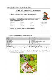 english teaching worksheets roald dahl
