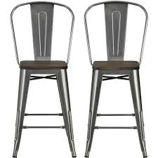 Bar Stools Counter Height Stools Dimensions Metal Bar Stools by Bar Stools Counter Height Bar Stools With Nailheads Backless Bar