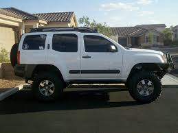 lifted nissan frontier white nissan xterra lifted white image 177