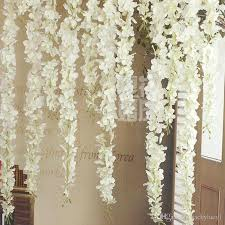 wedding arches square 2017 upscale artificial silk wisteria flowers for diy wedding arch