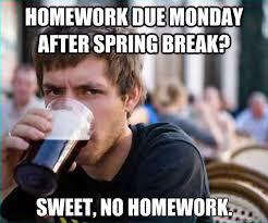Sweet Meme - no homework meme