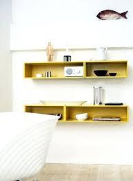 chambre rangement etagere rangement chambre etagere murale jaune cube de rangement