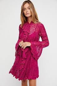 pink going out u0026 date night dresses free people