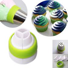 amazon com oppohere 3 color icing piping bag russian nozzle