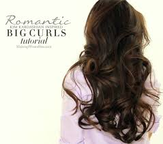 how to curl your hair fast with a wand kim kardashian big curls tutorial how to blow dry curl your hair