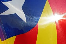 Estelada Flag Catalan Parliament Declares Independence From Spain Descrier News
