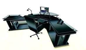 Computer Desks Black Black Corner Computer Desk Eatsafe Co