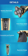 rechargeable hair clipper electric shaver trimmer waterproof hair