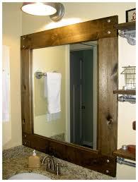 outstanding diy framed bathroom mirror photo ideas yoyh org