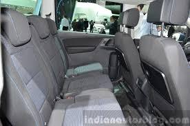 volkswagen minivan 2016 interior 2015 volkswagen sharan interior at 2015 geneva motor show indian