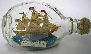 ship in a fascinating ships in a bottle