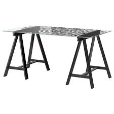 White Glass Desks by Ikea Glass Top Desk 84 Cool Ideas For Office Desk With Glass