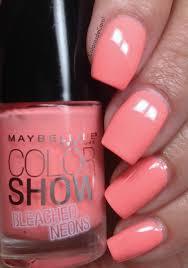colores de carol maybelline bleached neons