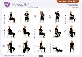 Office Chair Workout Perfect Office Chair Yoga 17 For Your Home Decorating Ideas With