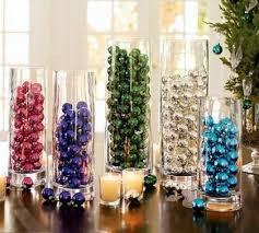non flower centerpiece ideas wedding mini ornament