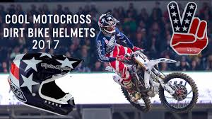 motocross racing helmets cool dirt bike helmets 2017 youtube