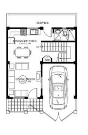 Philippine House Designs And Floor Plans For Small Houses House Plan With Roof Deck And Firewall House Design Pinterest