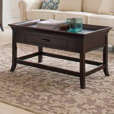 Coffee Table Rounded Edges Rounded Edge Coffee Table Wayfair