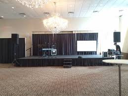 drape rental staging pipe and drape rentals in nj cmt sound systems