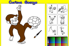 curious george coloring game coloring games games loon