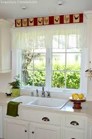 kitchen exquisite modern kitchen valance best 25 diy lace valance ideas on pinterest scrap fabric