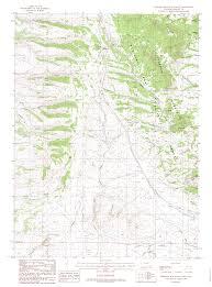 Wyoming Topo Map Turtle Rock Wyoming