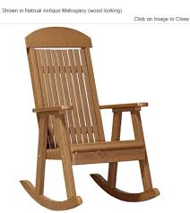 outdoor poly furniture luxury poly prchr high back porch rocker