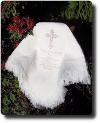 baptism blankets personalized christening blankets and personalised baby baptism shawls