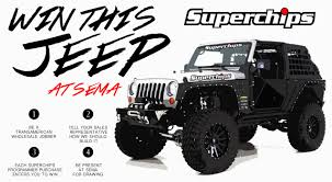 jeep wrangler auto parts jeep giveaway 2014 sema with superchips and transamerican