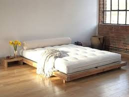 bed simple low bed frame home interior decorating ideas