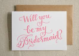 bridesmaids invitation stationery a z bridesmaid and of honor cards of honor