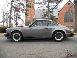 grey porsche 911 porsche 911 carrera coupe 3 2l well documented meteor grey