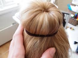hairstyles using a bun donut how to make a classical ballet bun medium to long hair the