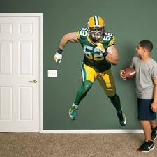 Green Bay Packers Bedroom Ideas Green Bay Packers Logo Wall Decal Shop Fathead For Green Bay