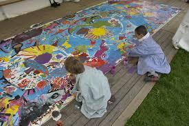 promoting peace through art
