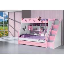 Bunk Bed Hong Kong B60 China Children Pink Color Bunk Bed Manufacturer Supplier