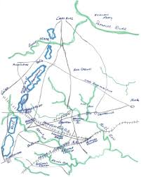 Northern Virginia Map by Sharpsburg Campaign Troop Movement And Topo Maps