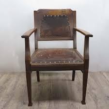Antique Wooden Armchairs Antique Art Nouveau Wooden Armchair With Embellishments For Sale