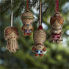 designed by suzy ultman these adorable gingerbread ornaments make