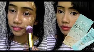 review tutorial make up natural wardah wardah one brand makeup tutorial natural makeup by keke tamara