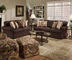 inspirational simmons verona chocolate chenille sofa 40 for living