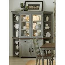 How To Display China In A Hutch French Country Display Cabinets You U0027ll Love Wayfair