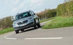 skoda kodiaq review prices specs and 0 60 time evo
