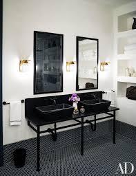 naomi watts and liev schreiber s stunning new york city apartment naomi watts and liev schreiber s stunning new york city apartment ashe leandro designed the master bath s washstand sinks
