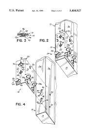 garage door bottom bracket patent us5404927 overhead garage door bottom bracket google