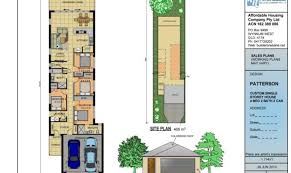 awesome narrow lot house plans one story 17 pictures house plans